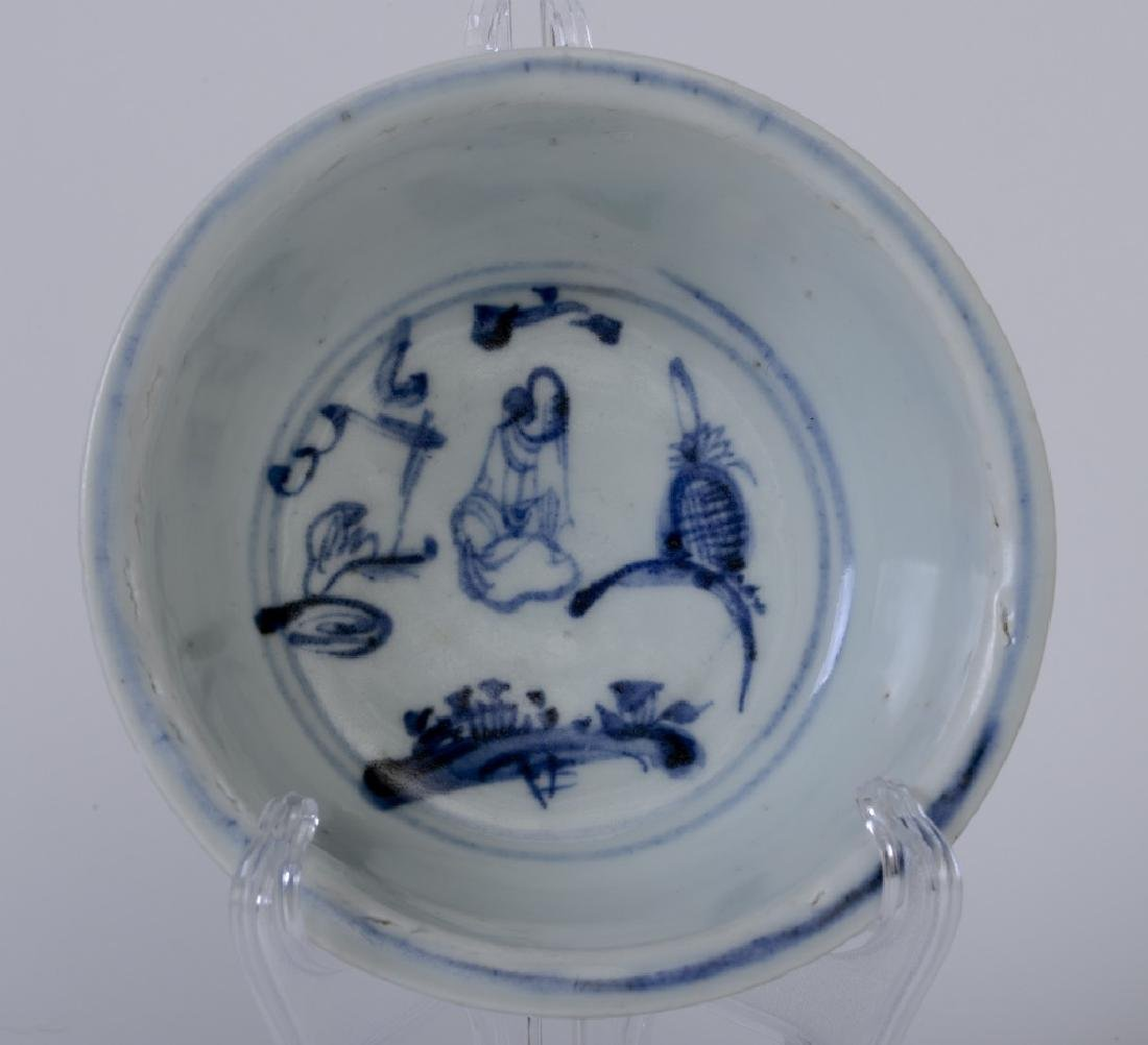 A rare Chinese Blue and white bowl