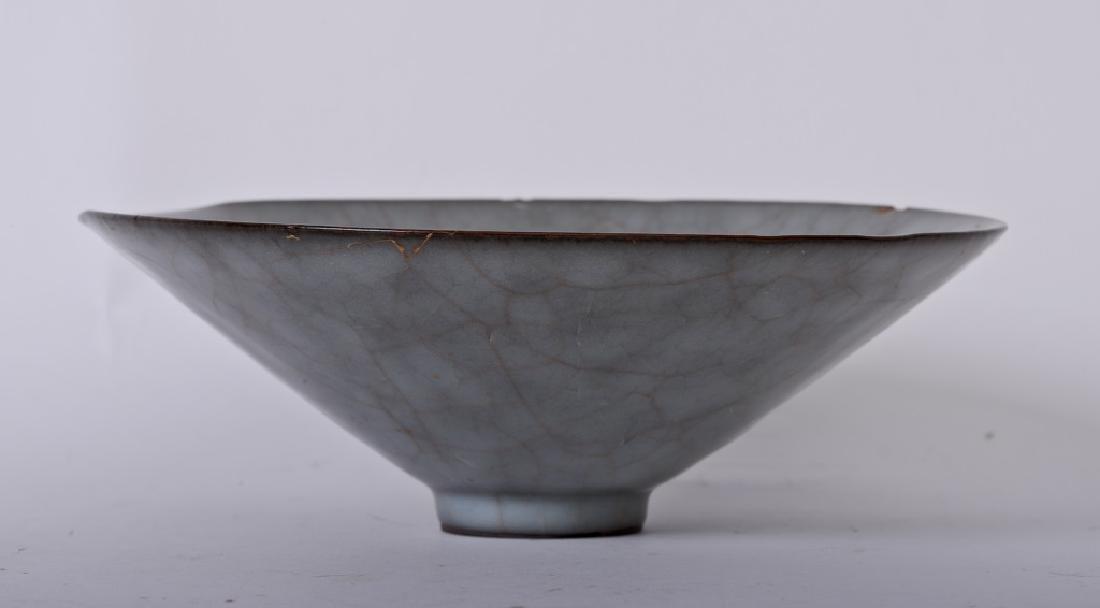 A rare Chinese ceramic Ru Kiln bowl