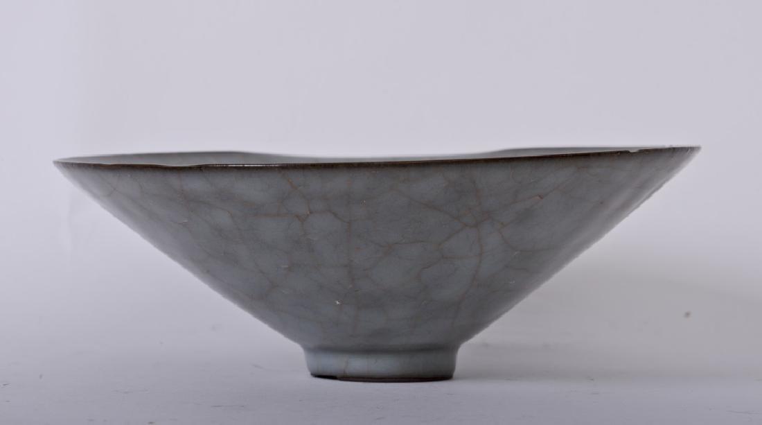 A rare Chinese ceramic Ru Kiln bowl - 2
