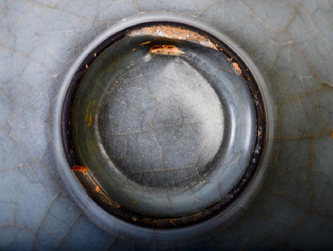 A rare Chinese ceramic Ru Kiln bowl - 9