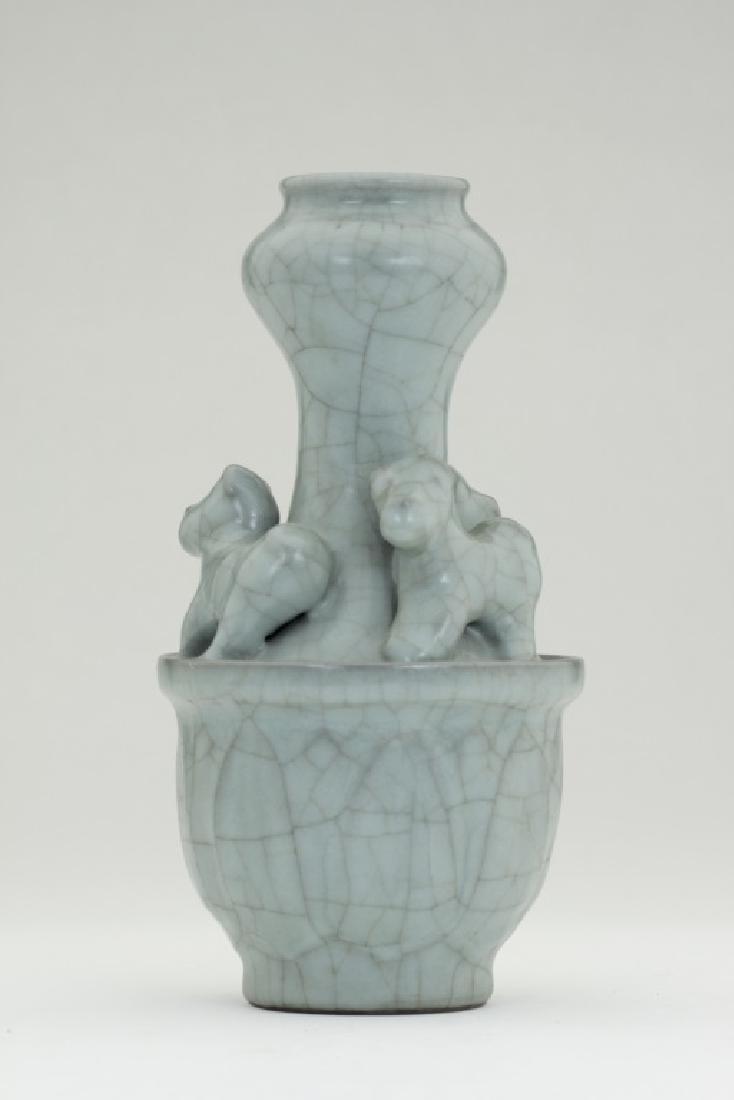 A rare Chinese Ru Kiln vase - 2