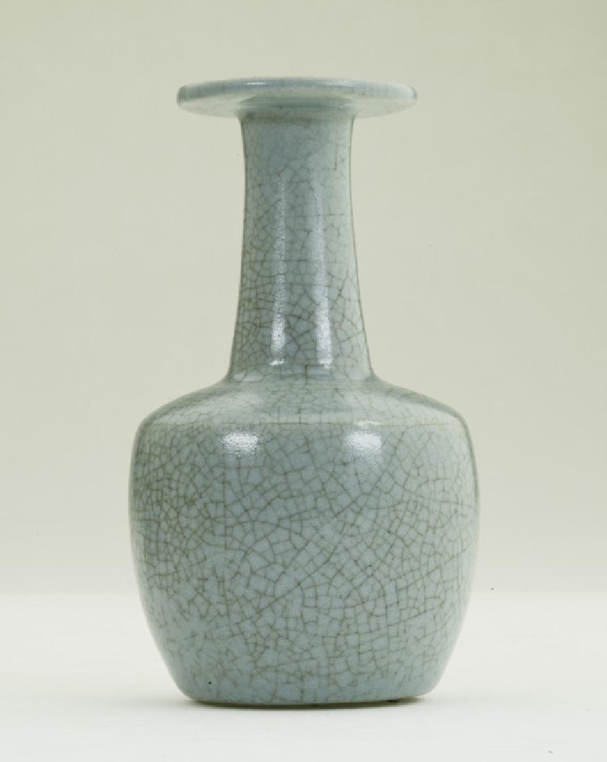 A nice Chinese Ru kiln bottle vase
