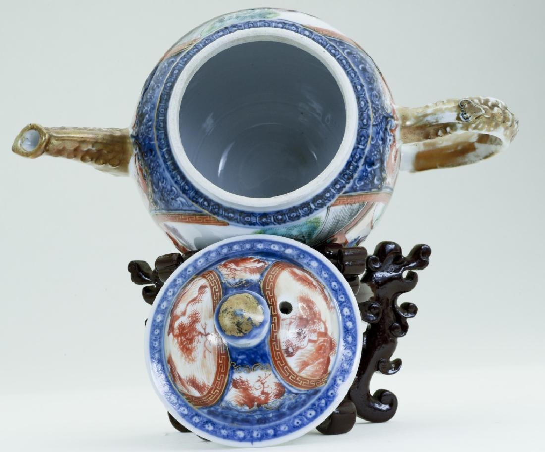 A superb Chinese Qianlong teacup - 5