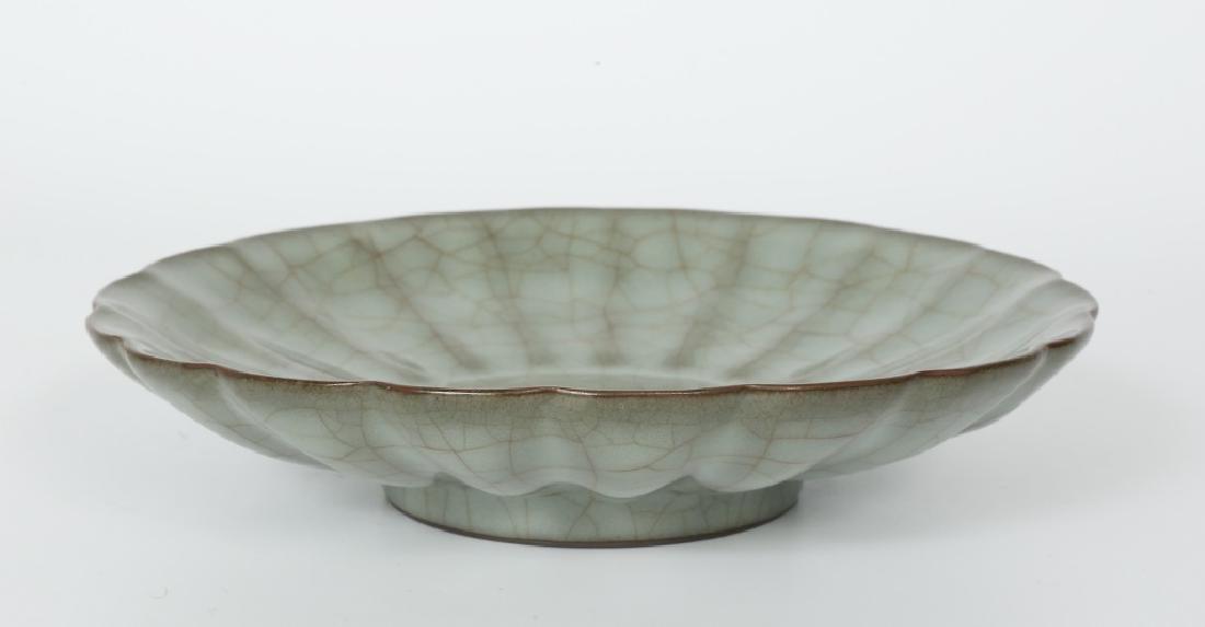 A Song dynasty Guang Yao kiln petals bowl