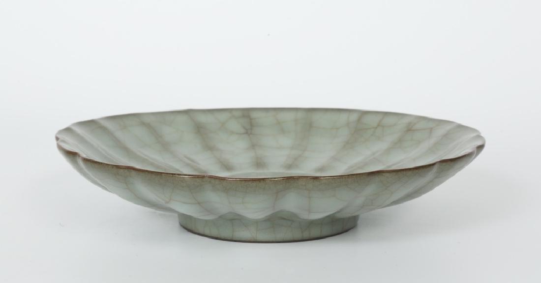 A Song dynasty Guang Yao kiln petals bowl - 2