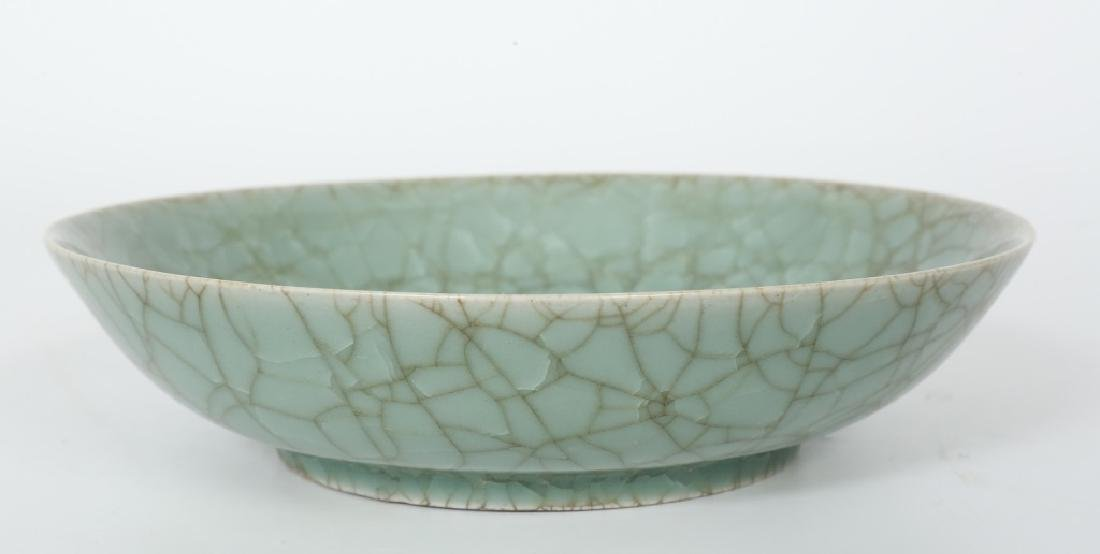 A superb Chinese Song dynasty Ru Yao kiln plate