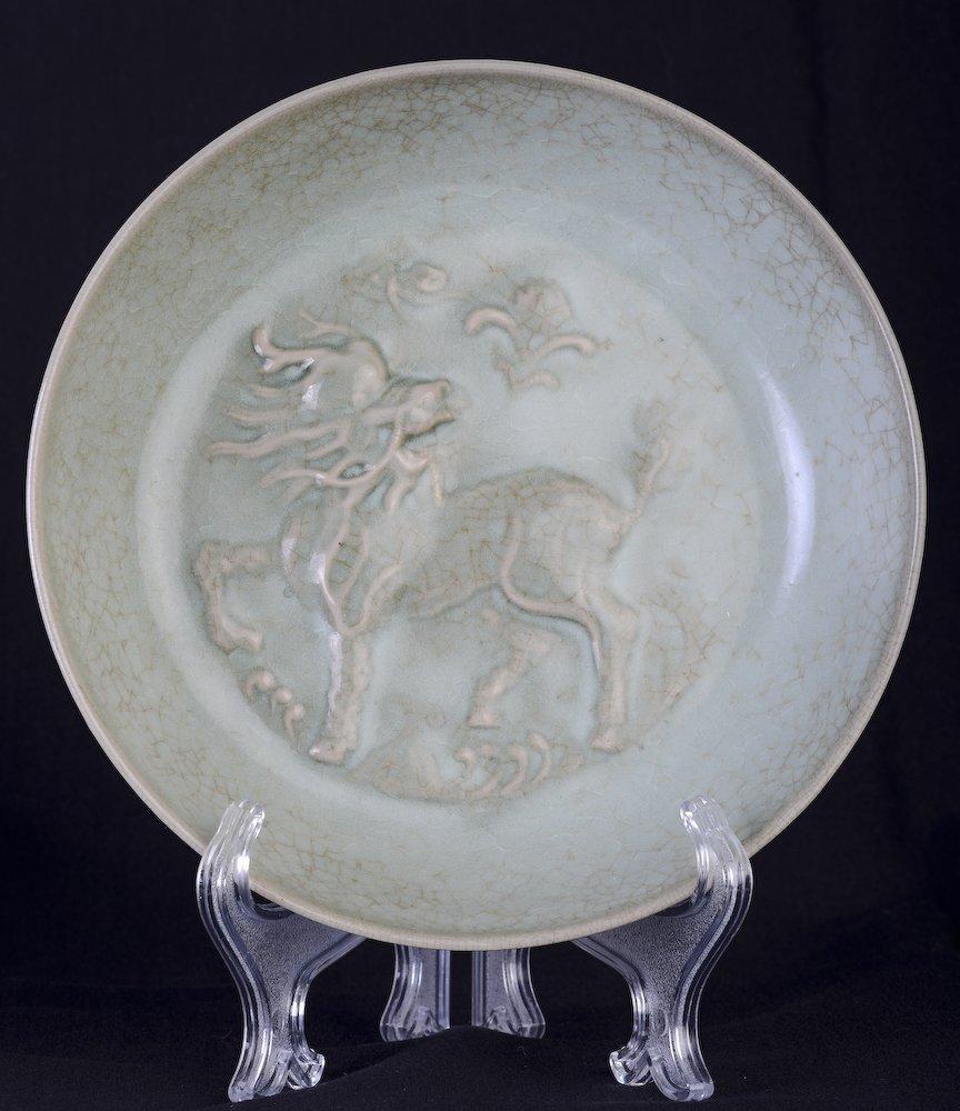 A nice Chinese Ru kiln plate