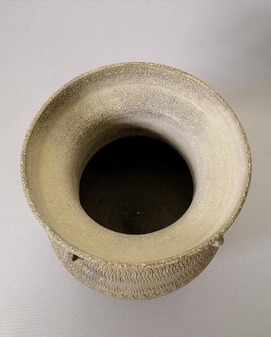Nice Korean vase of excavated earthenware of Silla - 8