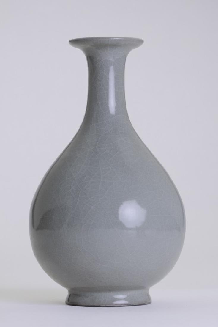 A Chinese Yu Hu Chun Ping vase