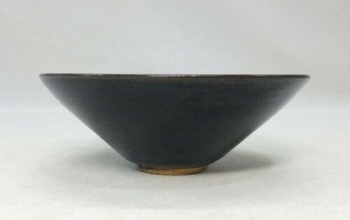 Chinese tea bowl of porcelain TENMOKU-CHAWAN