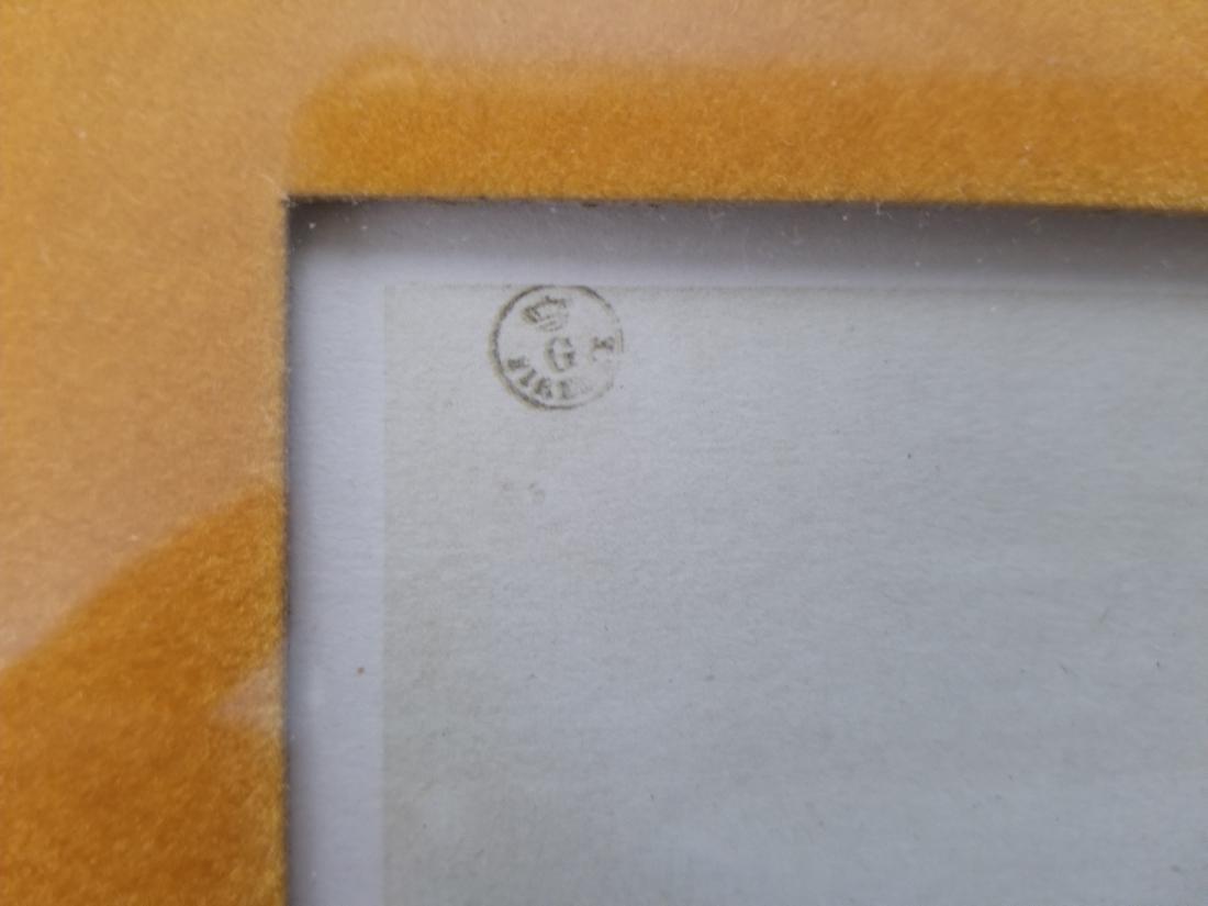 Original Rare Lithograph Signed - 4