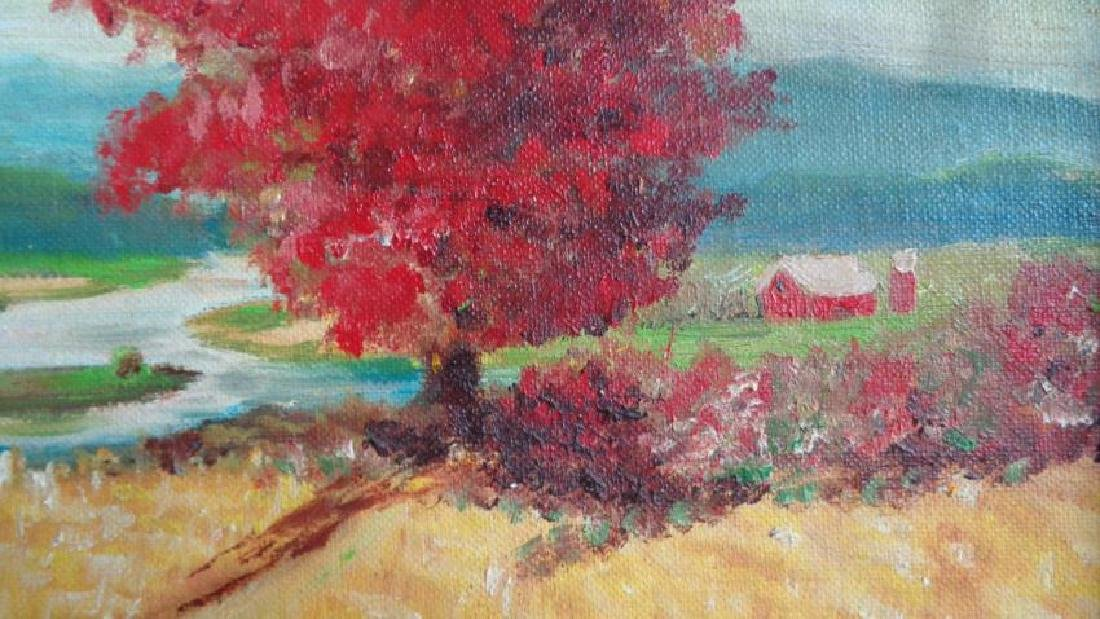 Original oil painting on Canvas panel California Landsc - 3