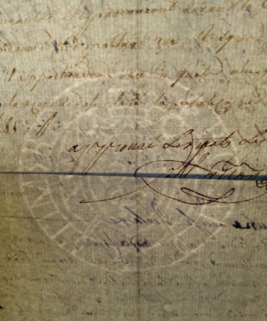 1816, 1823, 1833 Lot of 3 Antique Documents-Manuscripts - 2