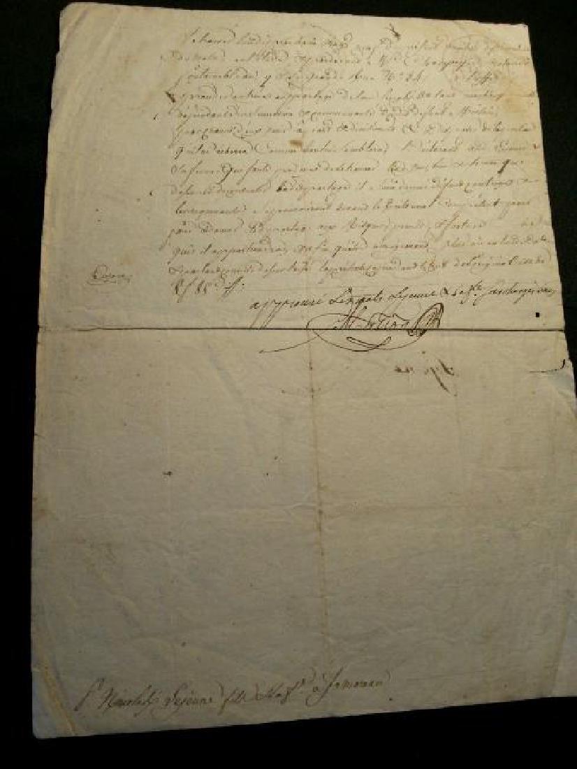 1816, 1823, 1833 Lot of 3 Antique Documents-Manuscripts - 3