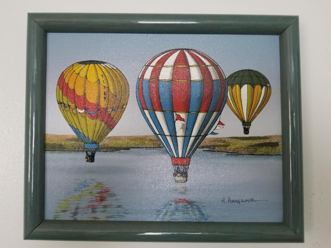 Original Oil Painting By H. Hargrove