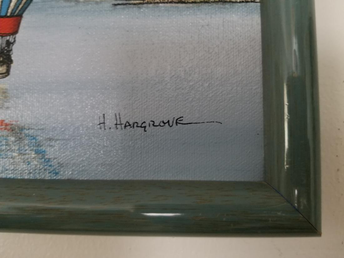Original Oil Painting By H. Hargrove - 2