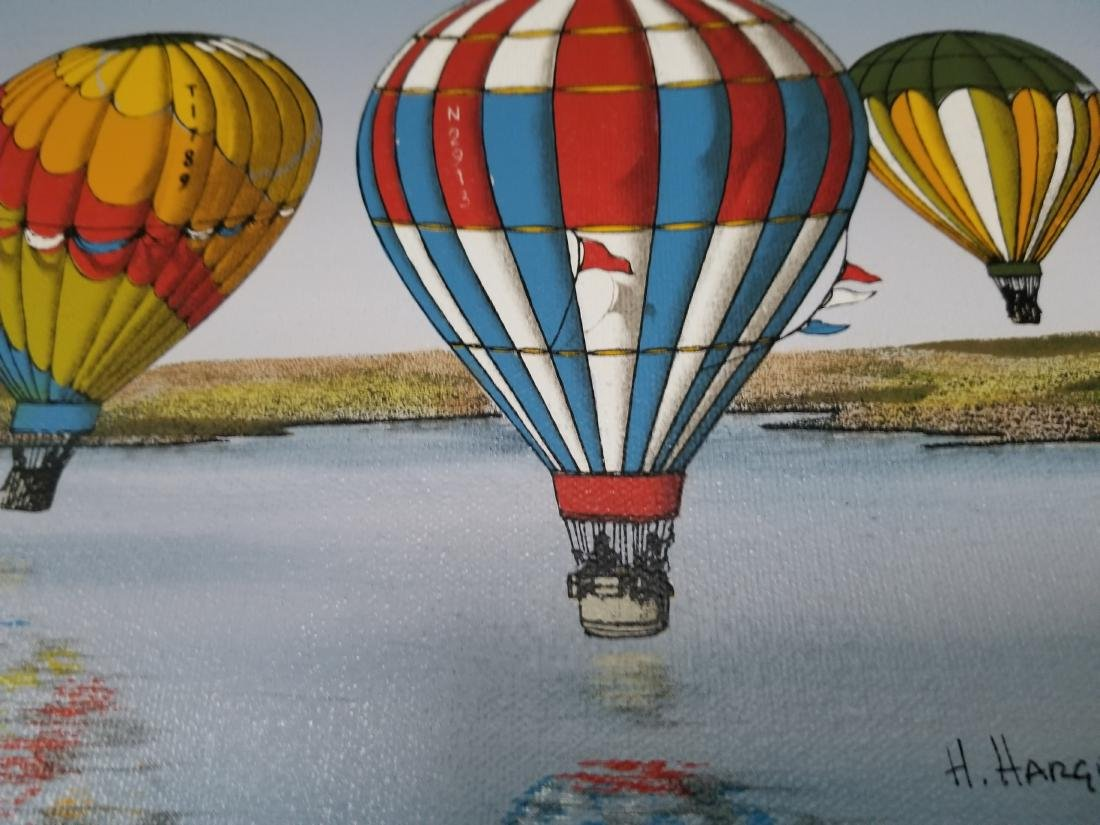 Original Oil Painting By H. Hargrove - 3