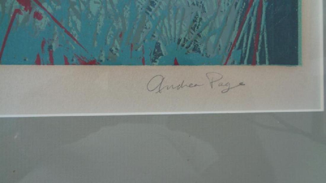 "Original VTG Andrea Page"" Moon Shine"" Frame - 5"