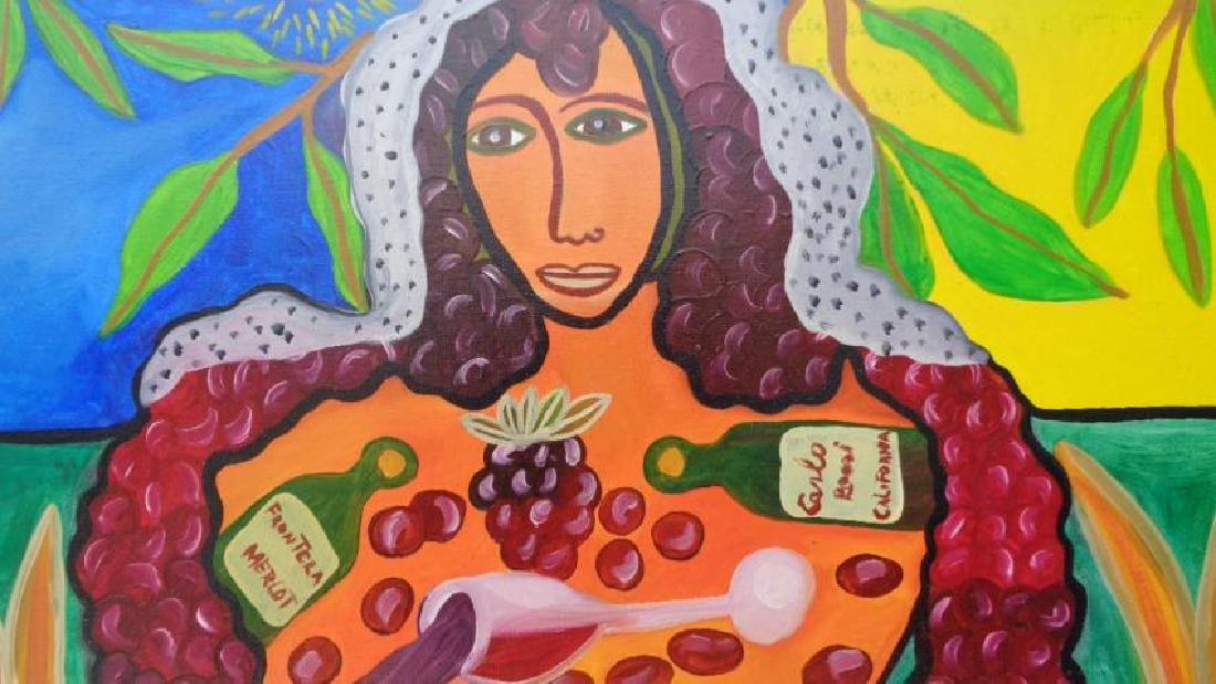 G. Jaramillo N. York 2012 Oil Painting-Signed - 2