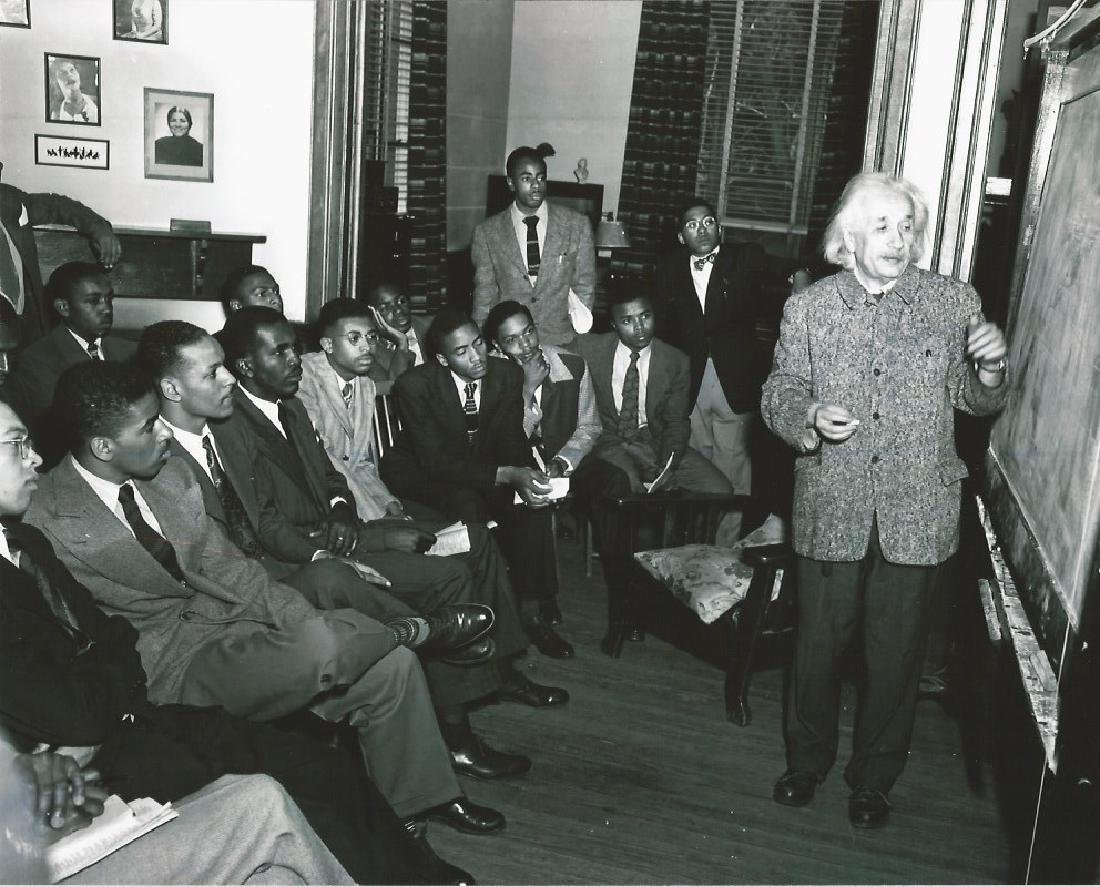 Einstein At Lincoln UniversityIn