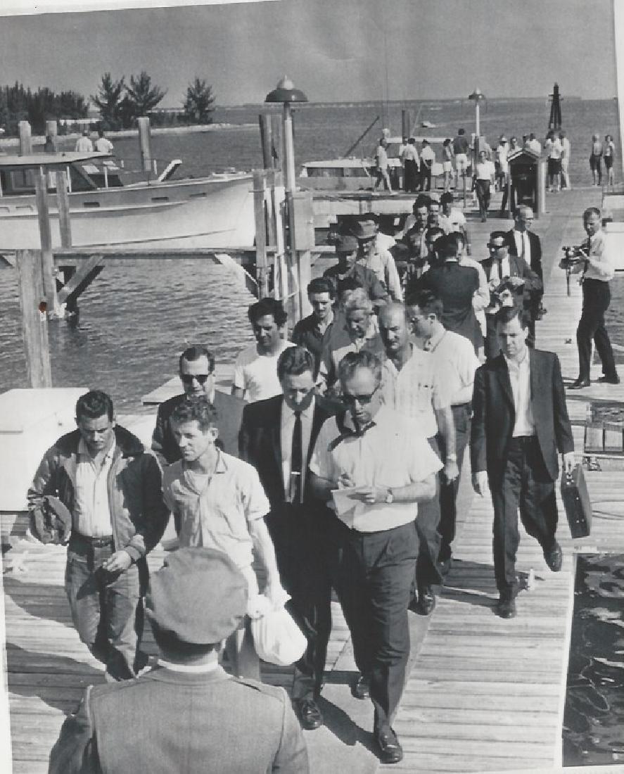 1963 Miami FL Cuba Raiders Captured by British