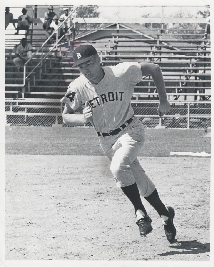 1962 Photo Purnal Goldy Baseball Player