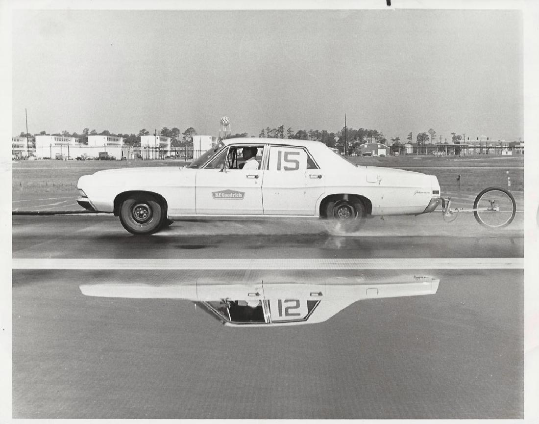 1968 Press Photo NASA Friction-Measuring Vehicle, Wallo