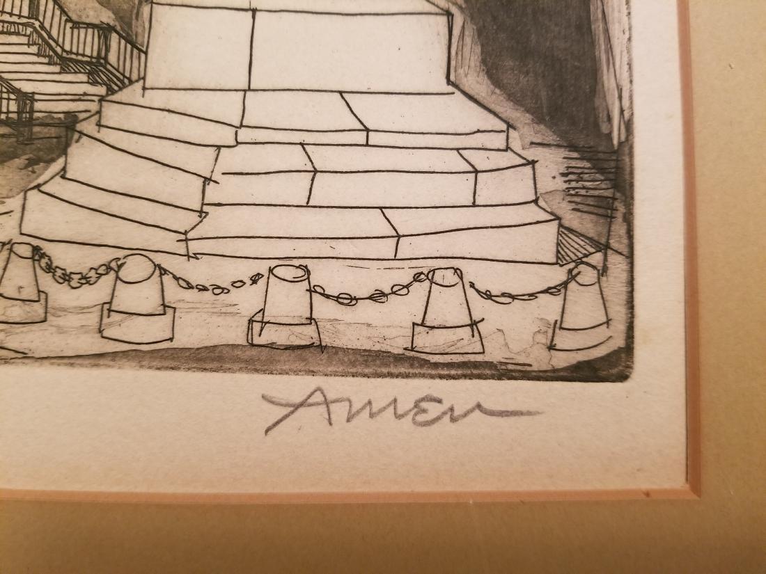 Irving Amen Original Lithograph - 3
