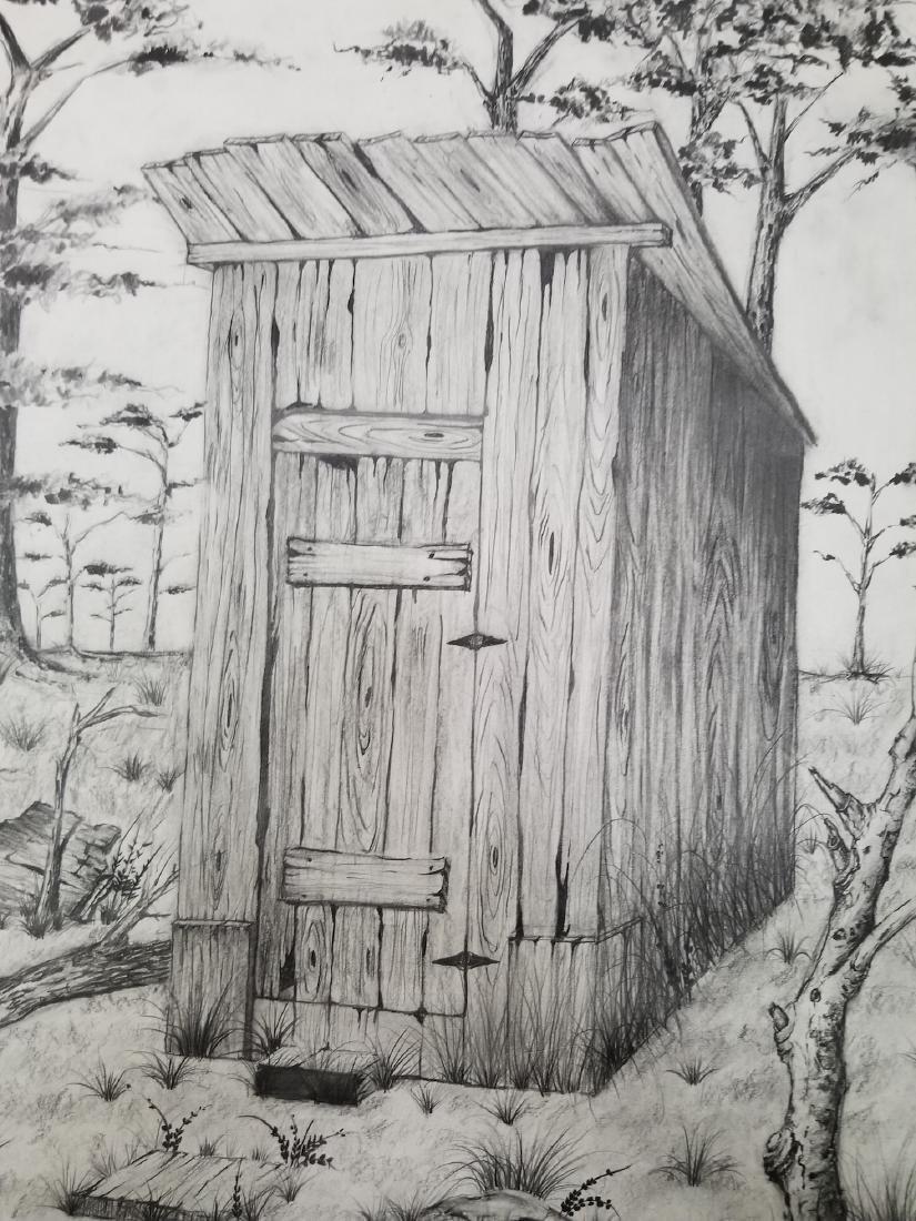 Original Pencil Drawing Signed - 2