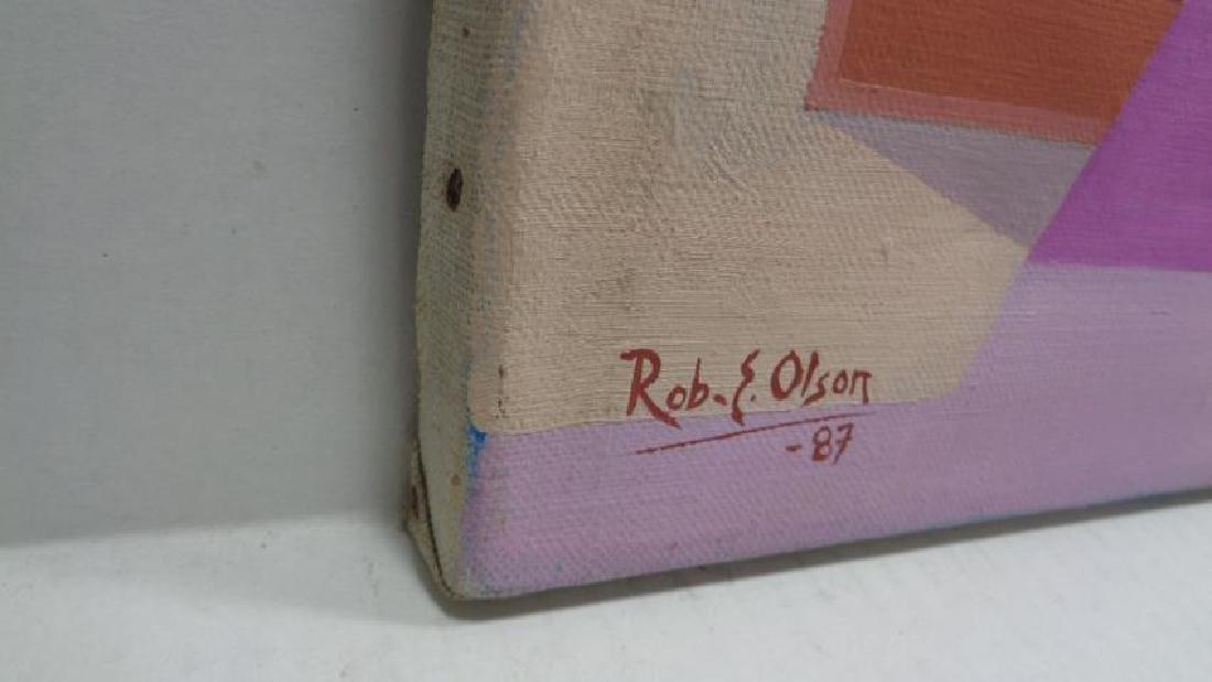 Original Rob E Olson Painting Signed. - 2