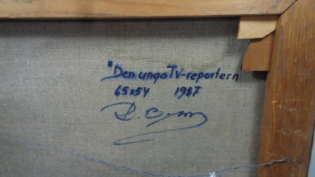Original Rob E Olson Painting Signed. - 7