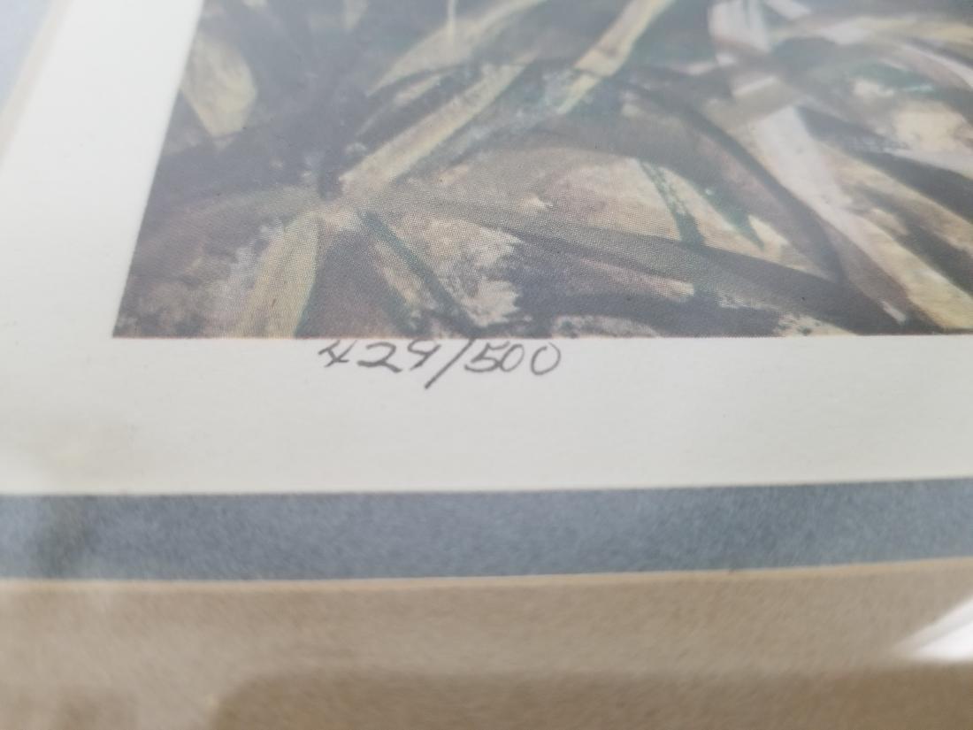 Bill Wesling Original Print Signed-Numbered-Stamped - 2