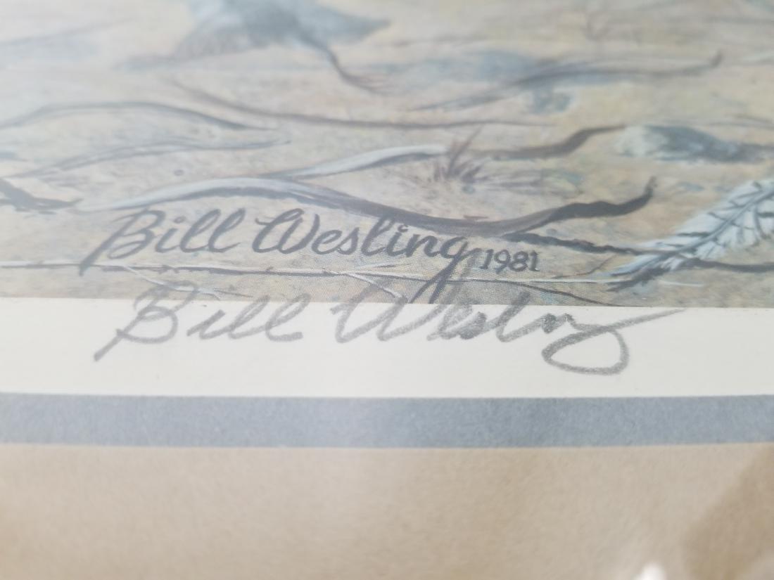 Bill Wesling Original Print Signed-Numbered-Stamped - 6