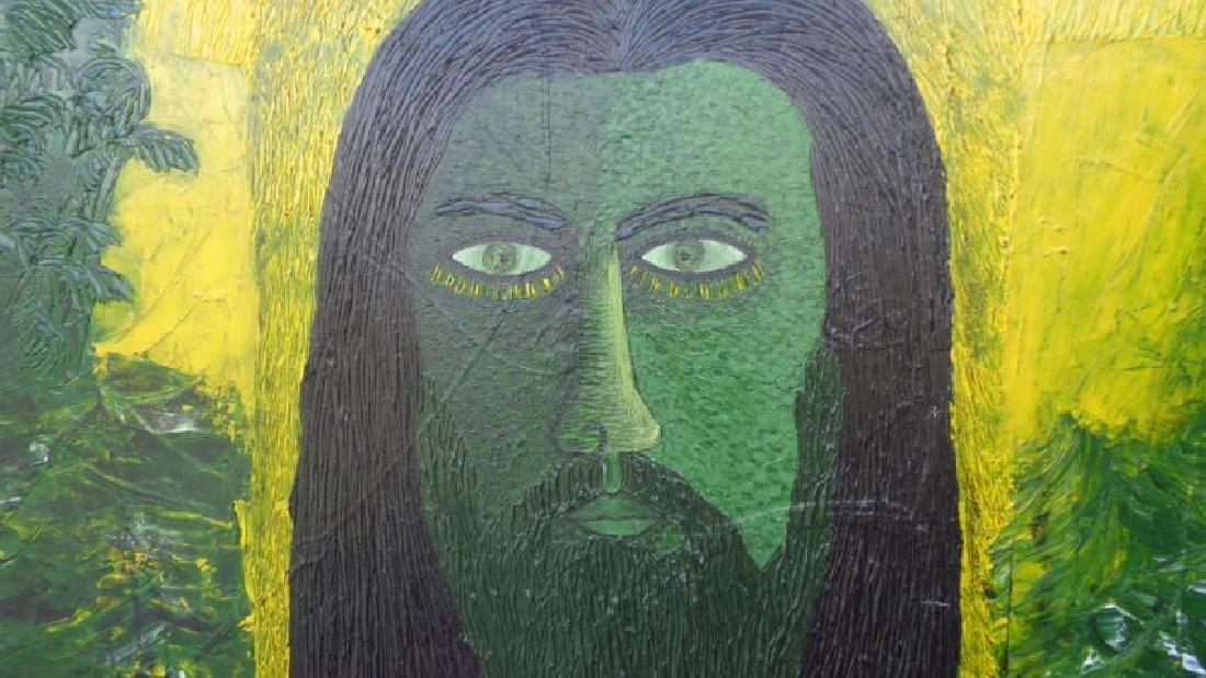Large Painting Cuban Artist Michel Blazquez - Ciclo De - 5