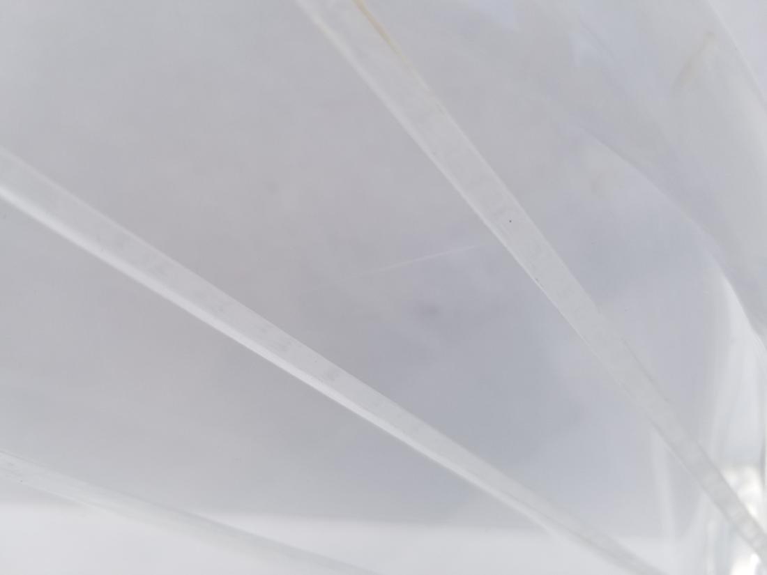Vtg Van Teal Lucite Sculpture Signed - 6