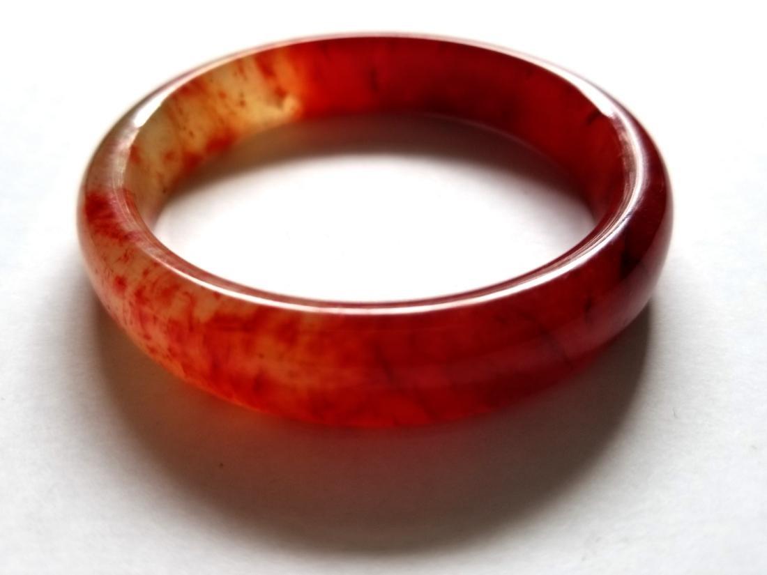 Excellent Chinese old jade Hand Carved bracelet bangle