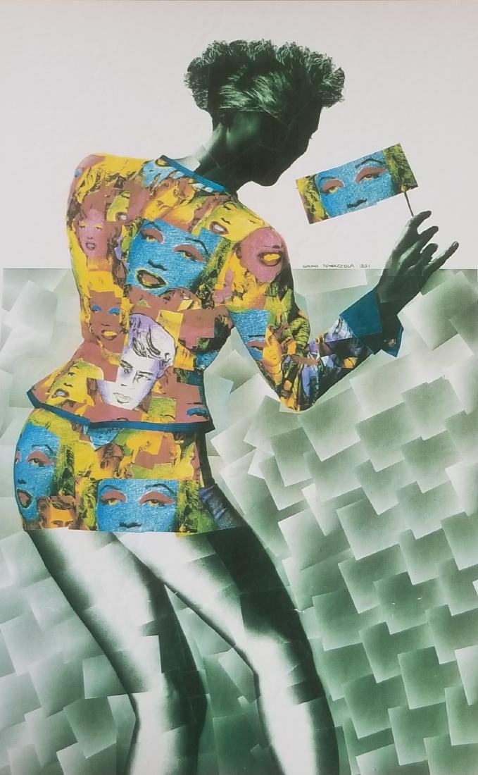 Marilyn Monroe 1991 Pop Art by Spinazzola