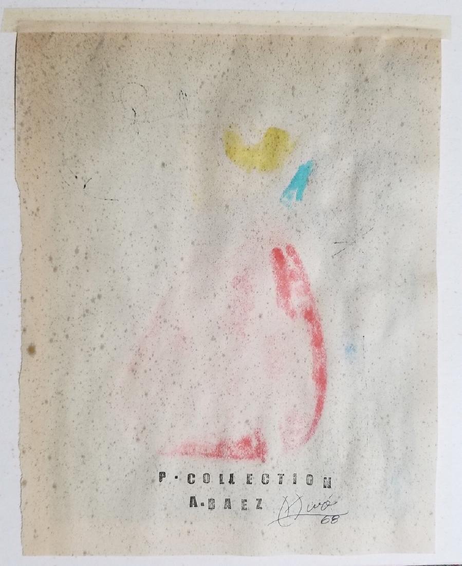 Joan Miro Painting Signed - 3