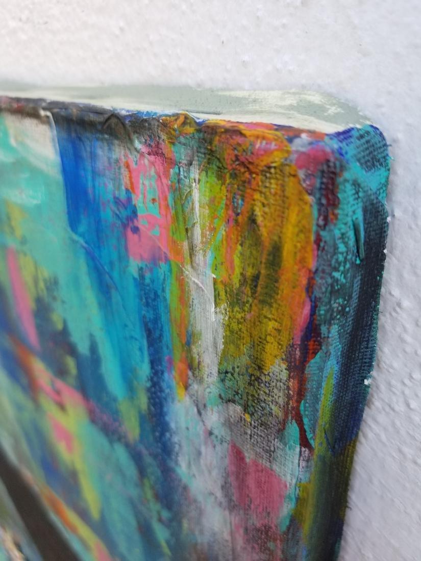 Original Acrylic Painting. Signed - 3