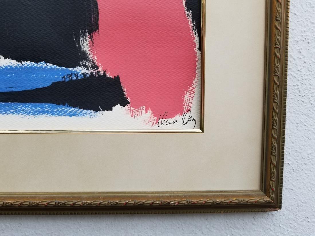 Original Acrylic Painting. New York Signed - 2