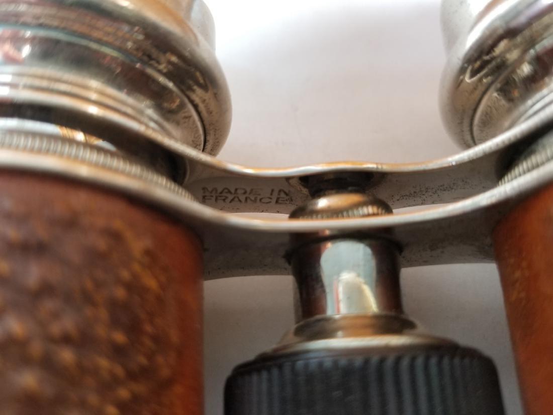 Vtg Jockey Club Paris Antique Opera Glasses Binoculars - 3