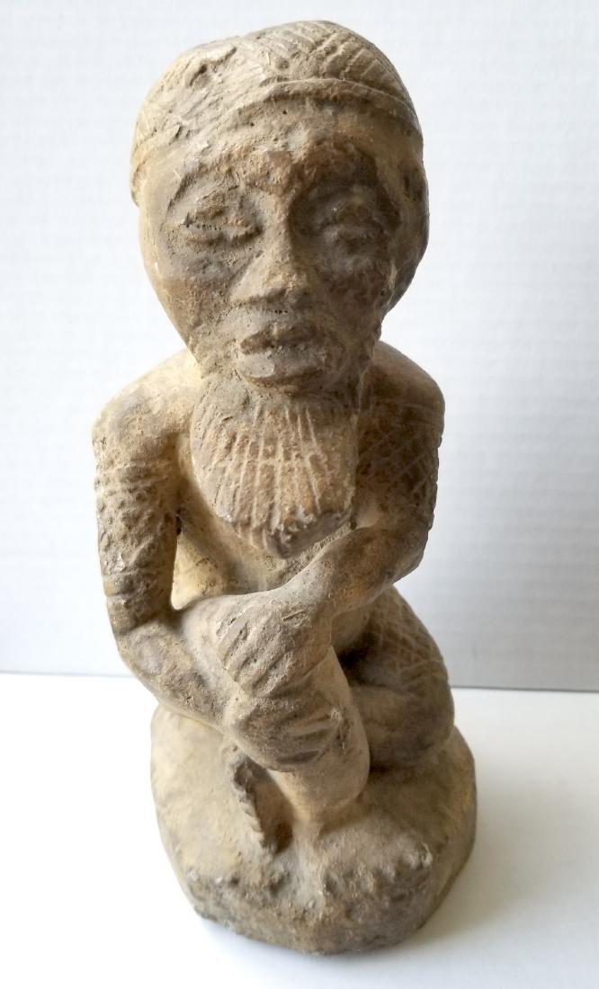 Rare antique sculpture carving in stone