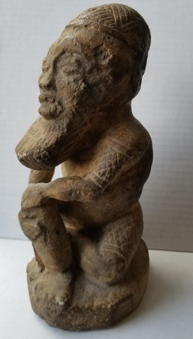 Rare antique sculpture carving in stone - 2