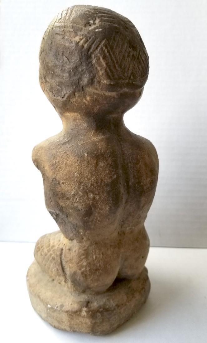 Rare antique sculpture carving in stone - 3