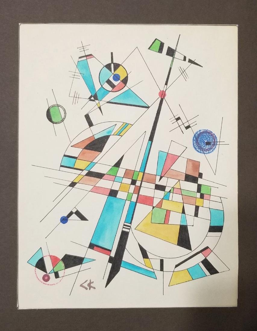Wassily Kandinsky (1866-1944) Abstract Painting