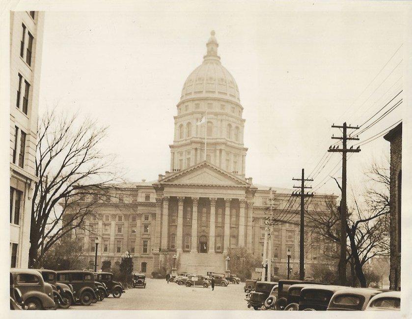 The State Capitol of Kansas Original Photo