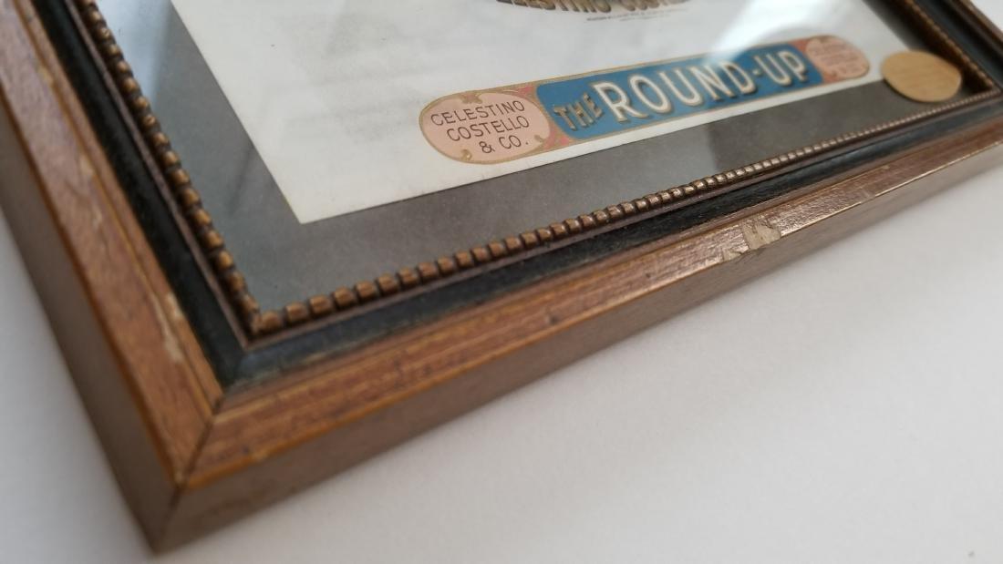 Authentic Old Original Cigar Box Label - 4