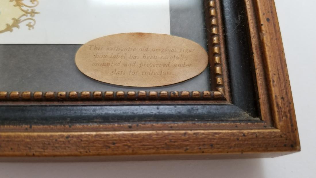 Authentic Old Original Cigar Box Label - 5
