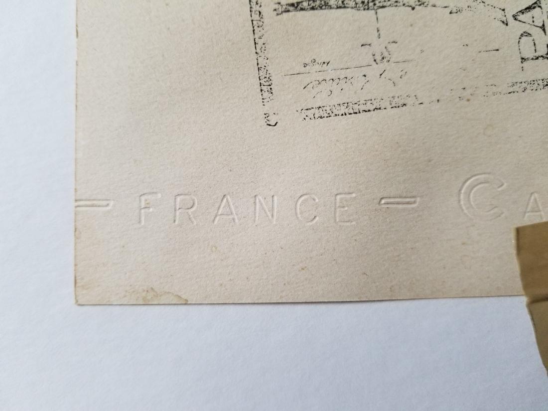 Original Watercolor Painting Signed Paris - 4
