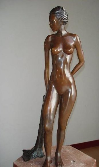 Bronze Sculpture By Colombian Artist Macky Perez